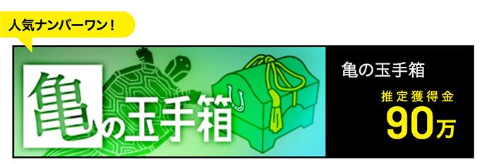亀の玉手箱