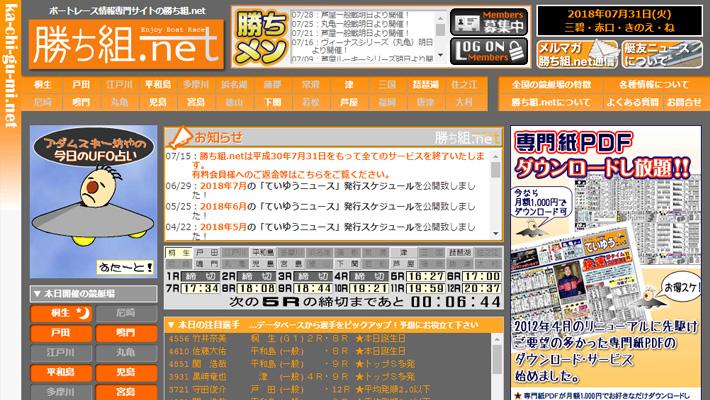 競艇・ボートレス予想サイト勝ち組.net