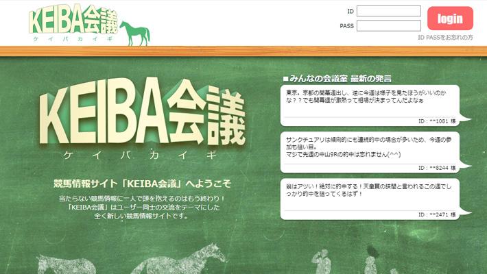 競馬予想サイトKEIBA会議