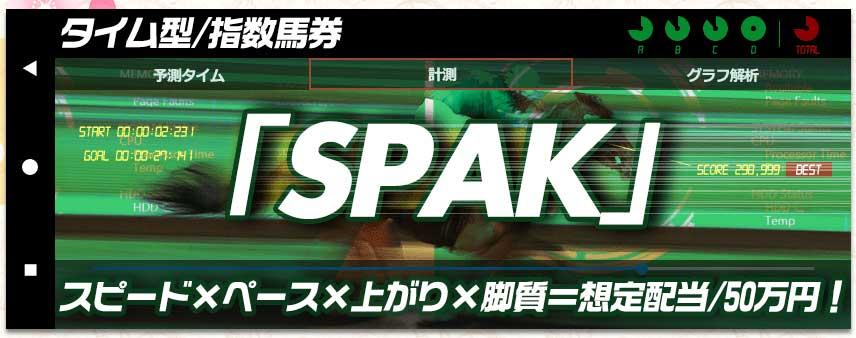 令和ケイバ タイム型/指数馬券「SPAK」