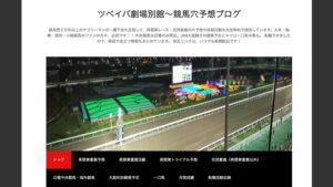 競馬予想サイトツベイバ劇場別館~競馬穴予想ブログ